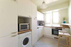 cuisine blanche plan travail bois cuisine blanche avec plan de travail en bois archipelles