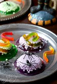 Jello Halloween Molds Instructions by Spooky Worm Halloween Jello A Spicy Perspective