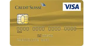 visa card credit suisse