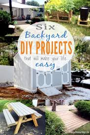 DIY Backyard Projects That Are Simple, Quick, And Will Make Your ... Backyard Diy Projects Pics On Stunning Small Ideas How To Make A Space Look Bigger Best 25 Backyard Projects Ideas On Pinterest Do It Yourself Craftionary Pictures Marvelous Easy Cheap Garden Garden 10 Super Unique And To Build A Better Outdoor Midcityeast Summer Frugal Fun And For The Gracious 17 Diy Project Home Creative