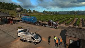 American Truck Simulator: Special Transport DLC Released | Rock ...