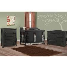 6 Drawer Dresser Black by Storkcraft 3 Piece Nursery Set Verona Convertible Crib Avalon 5