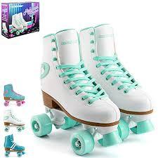 osprey retro roller patines para adultos botas altas con cordones para mujer varios diseños blanco verde menta uk 2 eu 34
