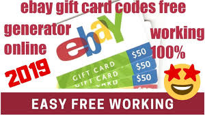 Ebay Gift Card Codes | How To Get Free Ebay Coupon Code 2019 ...
