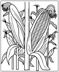 Pin Drawn Corn Printable 7