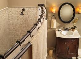 Graber Arched Curtain Rods by L Shaped Shower Curtain Rod Menards Curtains Gallery