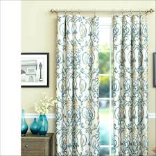 Navy Geometric Pattern Curtains by Patterned Curtain Panels Interior Magnificent Sheer Curtain Panels