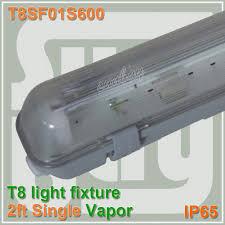 600mm vapor tight l 2ft one bulb t8 fluorescent light fixture