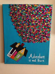Disneys Up Adventure Is Out There Acrylic Canvas