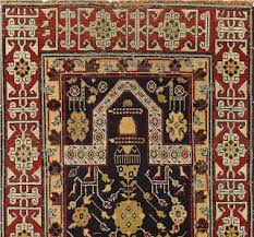 And Whereas Persian Carpets Often Feature Fully Recognizable Lions Or Fairy Tale Beasts The Animals That Appear In Caucasus Are Only Zoomorphic