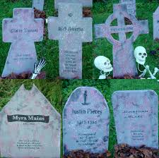Funny Halloween Tombstones For Sale by Diy Basic Tombstones A Family Project The Amplifier The Blue Rose