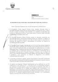 SENTENCIA DEL TRIBUNAL CONSTITUCIONAL ASUNTO ANTECEDENTES