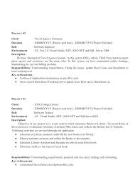 Experience On Resume Examples 2 Summary In For Software Engineer