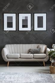 100 Modern Sofa For Living Room Simple Dark Posters Above Modern Sofa In Sophisticated Living