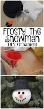 Frosty Snowman Christmas Tree by Diy Frosty The Snowman Ornament The Resourceful Mama