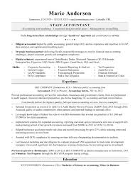 Accountant Resume Exles Accounting Sle