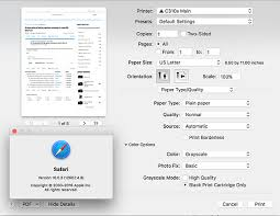 Grayscale Printing Option Missing In MacOS Sierra Mac Talk Forum