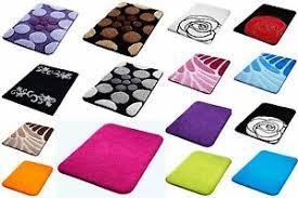 details zu badteppich 16 top modelle zur wahl badvorleger badematte schwarz grau weiss lila