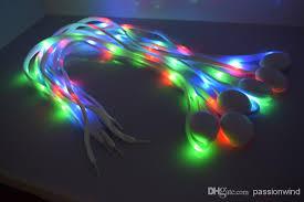 led gadgets shoe lace fiber optic shoelace luminous shoe