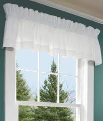 window toppers hemstitch valance country curtains
