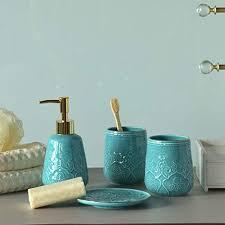 sets hochwertige bad accessoires badezimmer deko moderne
