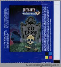 Top Halloween Candy 2013 by Hershey U0027s Humorous Halloween Tombstone Wrappers And More Hershey