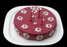 gateau pate d amande facile gâteau girly et fleuri anniversaire de ma princesse deuxième