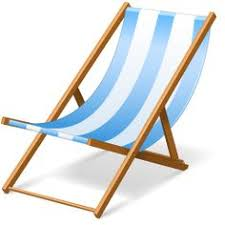 Transparent Beach Lounge Chair PNG Clipart Picture