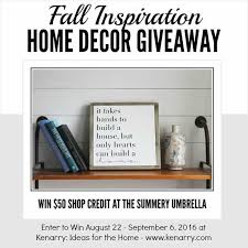 Inspirational Home Decor Signs Rustic And Modern Giveaway Fall Inspiration