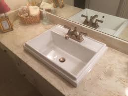 Sinking In The Bathtub Youtube by Replace The Sink In A Cultured Marble Countertop 25 Steps With