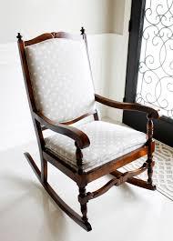 Rocking Chair Cushions Nursery Australia by Am Dolce Vita Rocking Chair Makeover
