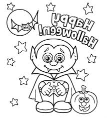 Free Coloring Pages Printable For Toddlers Disney Online Halloween Middle School