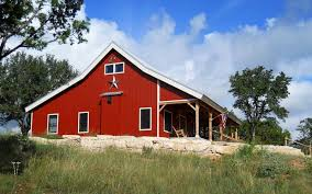 Country Barn Home Kit W Open Porch 9 Pictures