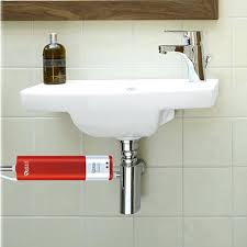 kitchen sink water heater bottom water flow inlet electric
