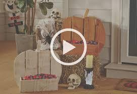 Rustic Decorative Pumpkin Stand