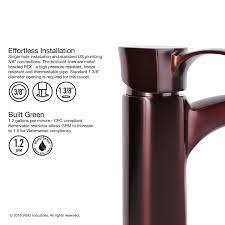 Pegasus Faucet Cartridge Nsf 61 by Vigo Otis Single Lever Vessel Bathroom Faucet Oil Rubbed Bronze