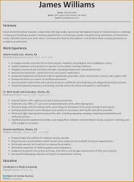 Healthcare Copywriting Examples New Medical Resumes Resume From