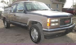 100 1994 Gmc Truck GMC Sierra 1500 SLE Ext Cab Pickup Truck Item G9918