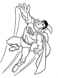 Superman Coloring Pages 13