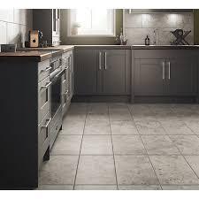 wickes shale travertine grey ceramic tile 600 x 300mm wickes co uk