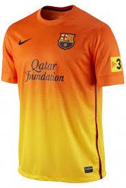 maillot barcelone 2012 2013 domicile extérieur nike officiel
