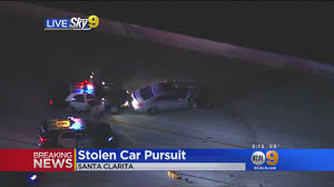 Best Pumpkin Patch In Santa Clarita by Pursuit Ends With Dramatic Crash Driver Arrested Cbs Los Angeles