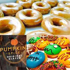 Krispy Kreme Halloween Donuts Australia by Blueberry Fritter Chocolate Bar Double Chocolate Bar And