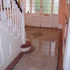 A Restored Terrazzo Floor