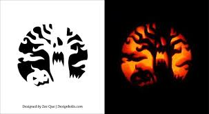 Scariest Pumpkin Carving Patterns by Free Printable Pumpkin Carving Stencils Health Symptoms And Cure Com