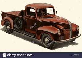 1941 Ford V-8 Pick-up Truck Stock Photo: 184285839 - Alamy