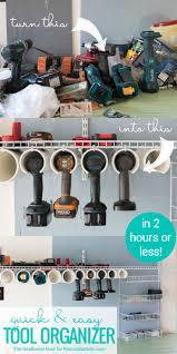 Cheap Garage Cabinets Diy by Best 25 Garage Organization Ideas On Pinterest Garage Ideas