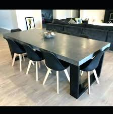 Creative Concrete Dining Room Table Tables Round