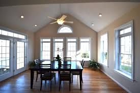How To Install Recessed Lighting In A Vaulted Ceiling Awesome Can Lights Bedroom The Most Dining