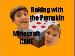 Minecraft Pumpkin Pie Nerdy Nummies by Baking With The Pumpkin Minecraft Cake In Real Life Youtube